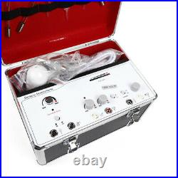 Portable 5in1 Galvanic High Frequency Brush Facial Machine SPA Beauty Equipment