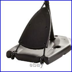 Portable Angled Basketball Hoop Polycarbonate Backboard Outdoor Sport Equipment
