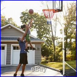 Portable Basketball Hoop Backboard System Stand Sports Equipment 8.4Ft-10Ft