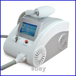 Portable Beauty Salon Equipment Q Switch ND YAD Laser Tattoo Removal Machine Spa