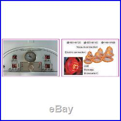 Portable Breast Care Beauty Equipment With Far Infrared Microcurrent 6 Cups