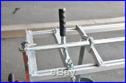 Portable & Collapsible 24 Chain Saw Mill Clamp on your Saw & Make Lumber