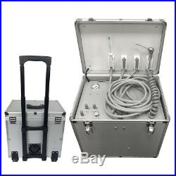 Portable Dental Turbine Unit Air Compressor Suction System Treatment Equipment