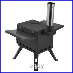 Portable Foldable Outdoor Firewood Stove Picnic Camping Tent Heating Equipment