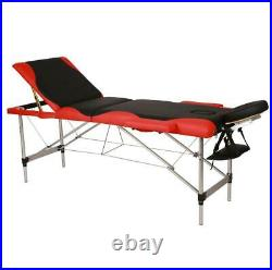 Portable Folding Aluminum Massage Table Facial SPA withCarry Case Beauty Equipment