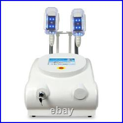 Portable Freeze fat cryolipolysis machine celulite removal vacuum equipment home