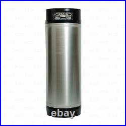 Portable Home Brew 5 Gallon Ball Lock Corny Keg Dispensing Kit + 5LB CO2 Tank