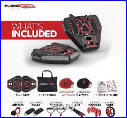Portable Home Gym Exercise Equipment + Heavy Resistance Bands & Accessories NEW