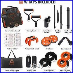 Portable Home Gym Workout Equipment with 10 Exercise Accessories