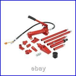 Portable Hydraulic Equipment Kit Ram Pump 4 Ton Auto Body Work Lifting Pushing