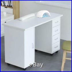 Portable Manicure Table Nail Station Salon Furniture & Equipment Beauty Desk