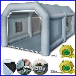 Portable Mobile Inflatable Car Paint Spray Booth Cabin Equipment Workstation US