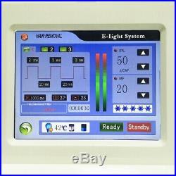 Portable OPT Hair Removal Machine IPL SHR RF Skin Rejuvenation Beauty Equipment