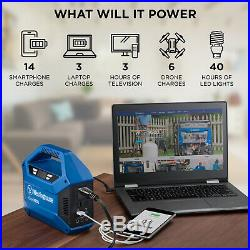 Portable Power Station Outdoor Power Equipment Hunting Camping Tailgating Work