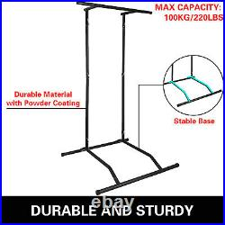 Portable Pull Up Dip Station Gym Bar Power Tower Chin Up Equipment Fitness withBag