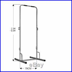 Portable Pull Up Dip Station Gym Bar Power Tower withbag Exercise Equipment Multi