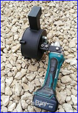 Portable Rock Crusher Powered by Angle Grinder Mobile Sampling Crusher