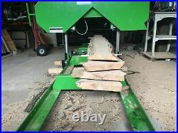 Portable Sawmill Bandmill Band Mill Saw Mill bandsaw Log Milling Saw Gas Powered