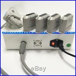 Portable hifu machine anti wrinkle body slimming beauty equipment 5 heads spa