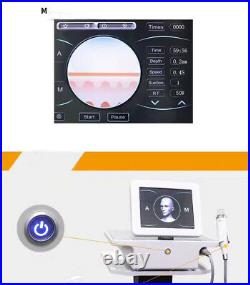 Portable microneedling RF equipment radio frequency wrinkle removal acne removal