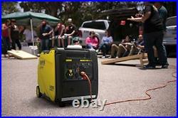 Power Equipment 4500W RV Ready Portable Inverter Generator Wireless Remote Start