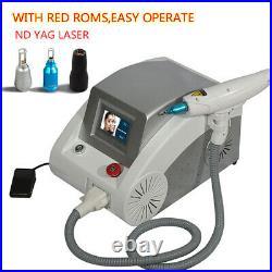 Professional Laser Tattoo Removal Machine ND YAG Beauty Equipment 1064nm 532nm