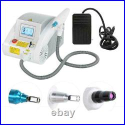 Q Switch ND YAG Laser Machine Tattoo Eyebrow Removal Skin Whitening Equipment US