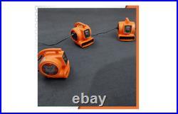 RIDGID Floor Carpet Dryer Blower Fan Cleaning Equipment Air Mover Circulator New