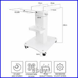 Rolling Trolly Display Stand for Portable Equipment Stable Cart Beauty Salon Use