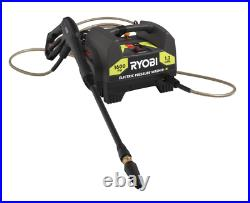 Ryobi 1,600-PSI 1.2-GPM Electric Pressure Washer Power Equipment with 3 Nozzles