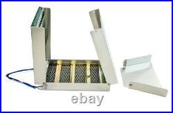SE 50 Folding Aluminum Sluice Box, Portable Gold Panning, Prospecting, Dredging