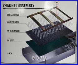 SE 50 Folding Aluminum Sluice Box Portable Gold Panning, Prospecting, Dredging