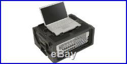 SKB PORTABLE 4U STUDIO FLYER RACK MOUNT CASE for COMPUTER LAPTOP & EQUIPMENT