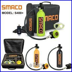 SMACO Mini Portable Scuba Diving Tank 1L Oxygen Tank Underwater Breath Equipment