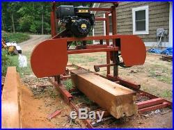 Sawmill Portable Bandsaw mill KIT 36 X 16' $1,695.00