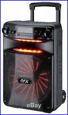 Sound System 15 Portable Bluetooth Wireless PA Speaker Microphone DJ Equipment
