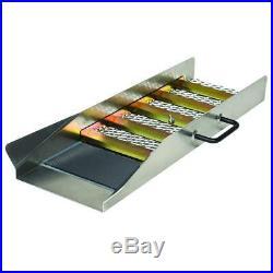 Stansport Gold Sluice Box Mining Aluminum Prospecting Panning Portable Pan 24in