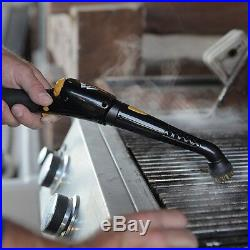 Steam Cleaning System Canister Deluxe Floor Mop Professional Equipment Machine
