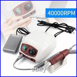 Strong Electric Nail Drill Machine Gel Polish Manicure Pedicure Equipment NEW