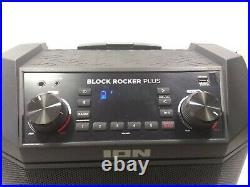 Studio Recording Equipment Block Rocker Plus 100W Portable Battery Powered AM/FM