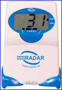 Swing Speed Radar Battery Powered Outdoor Sport Baseball Golf Training Equipment