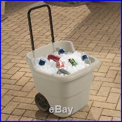 Tools Equipment Lawn Cart Wheelbarrow Yard Work Patio Garden 2 Wheels Handle