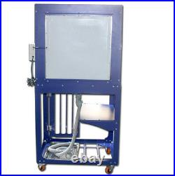 Top-grade Portable Vertical with Light Silk Screen Printing Cabinet for Cleaning
