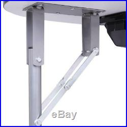 US Portable MDF Manicure Table Spa Beauty Salon Equipment Desk with Dust Collector