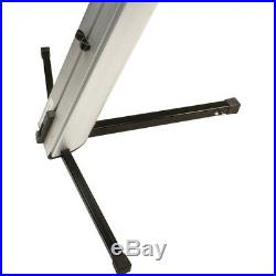 Ultimate Support APEX AX-48 Pro Two Tier Portable Column Keyboard Stand Silver