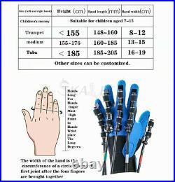 Useful Rehabilitation Therapy Equipment Portable Robotics Finger Training Gloves