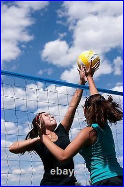 Volleyball Net Set Portable Court System Equipment Outdoor Beach Backyard Play