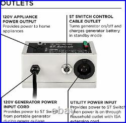 Westinghouse Outdoor Power Equipment ST Switch with Smart Portable Automatic