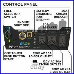 Westinghouse Outdoor Power Equipment-WGEN3600DF Westinghouse Dual Fuel 3600-R