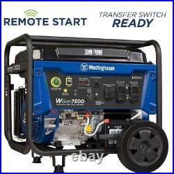 Westinghouse Outdoor Power Equipment-WGEN7500 7500 Watt Portable Gas Powered